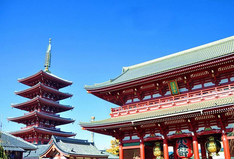 日本浅草寺1